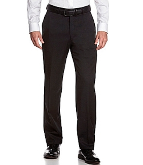Flat-Front Dress Pants by Hart Schaffner in Paper Towns