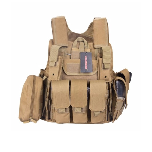 Six Pocket Tactical SWAT Vest by Wasing in Fast & Furious 6