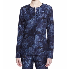 Davidson Long-Sleeve Floral Silk Blouse by Elizabeth and James in How To Get Away With Murder
