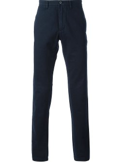 Classic Fit Five-Pocket Cotton Chinos by Tailor Vintage in The Best of Me