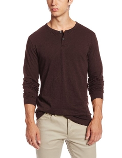 Gaskell Nebulous Henley Shirt by Theory in Barely Lethal