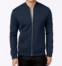Roman Lightweight Quilted Jacket by INC International Concepts in Bastards