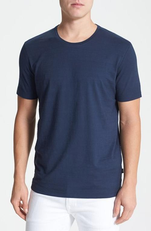 Terni 103 Regular Fit Crewneck T-shirt by Hugo Boss in The November Man