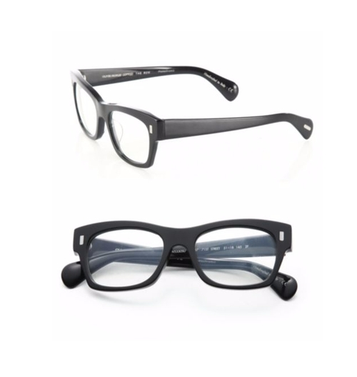 71st Street Square Optical Glasses by Oliver Peoples The Row in Keeping Up With The Kardashians - Season 12 Episode 19
