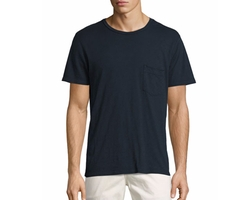 Raw-Pocket Crewneck T-Shirt by 7 For All Mankind in Lethal Weapon