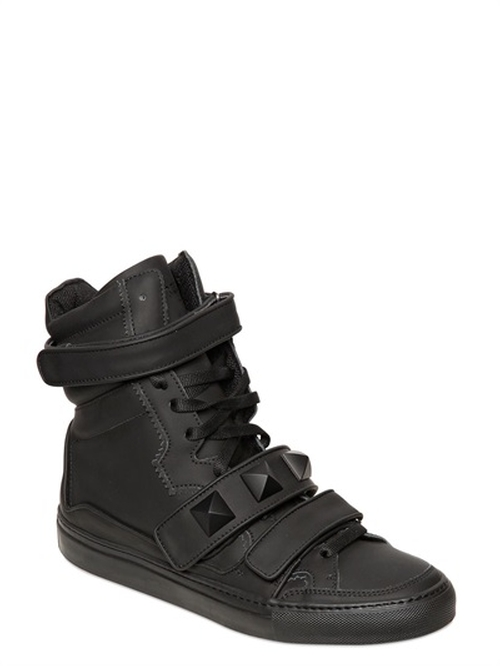 Leather High Top Sneakers by Giacomorelli in Empire - Season 2 Episode 8