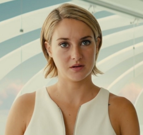 Custom Made Zip Sleeveless Top by Marlene Stewart (Costume Desinger) in The Divergent Series: Allegiant