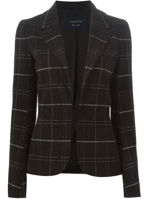 Checked Blazer by Lanvin in The Good Wife - Season 7 Episode 12