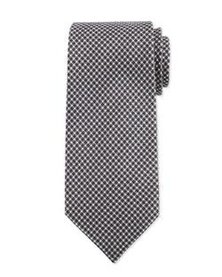 Neat Herringbone Silk Tie by Tom Ford in Suits