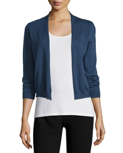 Long-Sleeve Cotton Cardigan by Peserico in Keeping Up with the Joneses