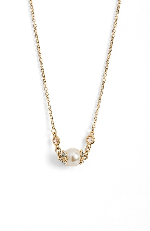 'Providence' Faux Pearl Pendant Necklace by Judith Jack in Adult Beginners