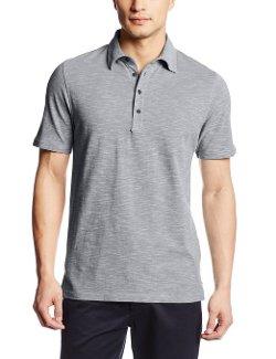 Men's Life Khaki Short Sleeve Polo Shirt by Haggar in Couple's Retreat