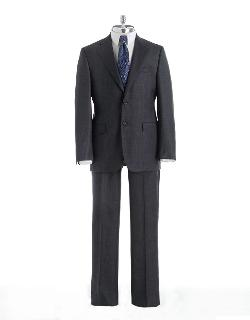 Classic Fit Wool Suit by JOSEPH ABBOUD in Transformers: Age of Extinction