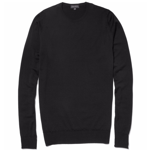 Marcus Crew Neck Merino Wool Sweater by John Smedley in House of Cards - Season 4 Episode 3
