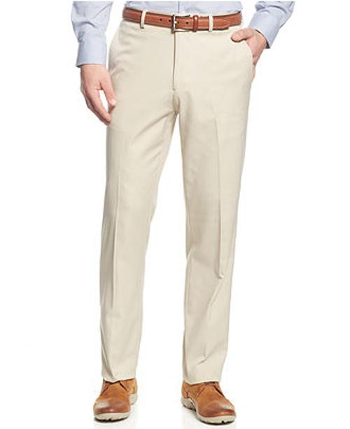 Serona Shadow Striped Straight Fit Dress Pants by Haggar in Pain & Gain