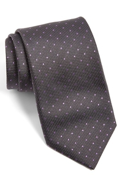 Dot Silk Tie by Canali in Suits