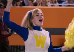 Custom-Made Cheerleader Uniform by Kari Perkins (Costume Designer) in My All American