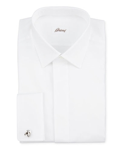 Oxford French-Cuff Dress Shirt by Brioni in Tomorrow Never Dies