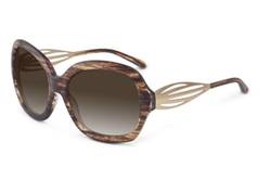 """Gossip"" Tortoise Sunglasses by Sama Eyewear in Focus"