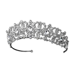 Rhinestone Crystal Tiara by Melissa Kay Collection in Scream Queens