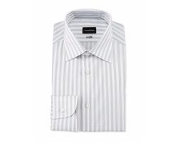 Bold Stripe Dress Shirt by Ermenegildo Zegna in The Blacklist