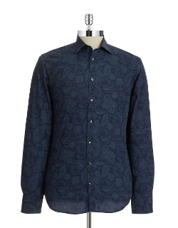 Paisley Sportshirt by Bruun and Stengade in No Escape