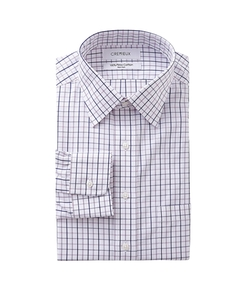 Regular-Fit Spread-Collar Dress Shirt by Cremieux in The Overnight
