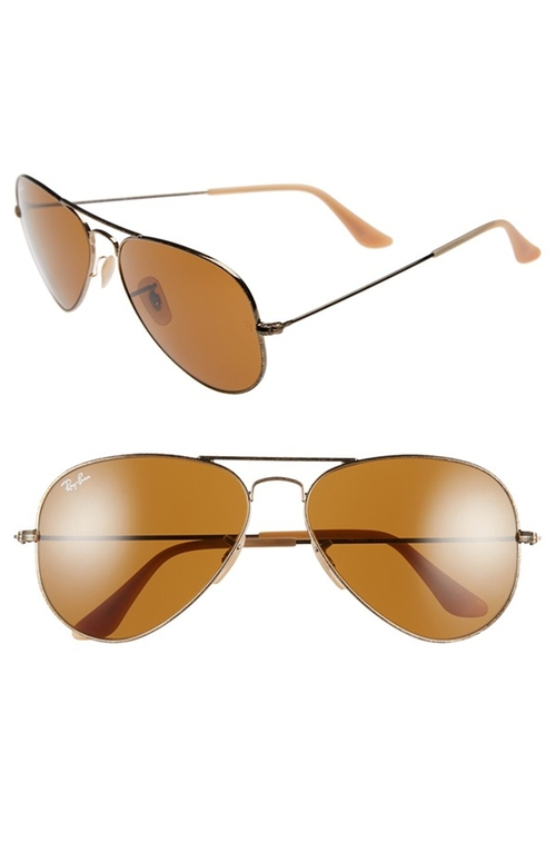 Sunglasses Nashville  juliette barnes s brown ray ban original aviator sunglasses from