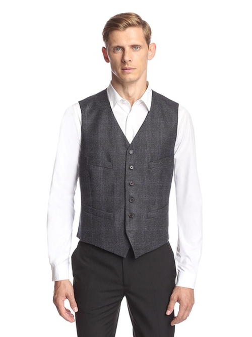 Hampton Super Wool Vest by John Varvatos in How To Get Away With Murder