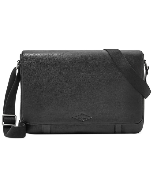 Aiden Leather Messenger Bag by Fossil in Nashville