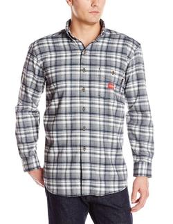 Men's Flame-Resistant Long Sleeve Plaid Shirt by Dickies in Secret in Their Eyes