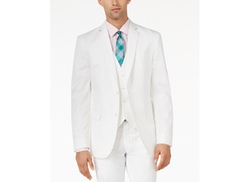 White Slim-Fit Jacket by Bar III in Forgetting Sarah Marshall