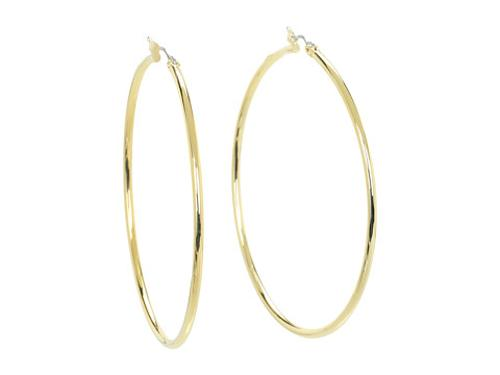Large Thin Circle Hoops by Lauren in Brick Mansions