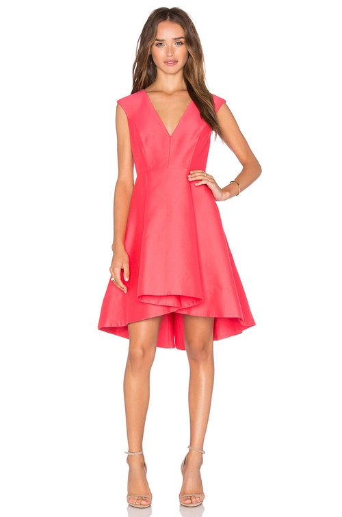 High Low Dress by Halston Heritage in La La Land