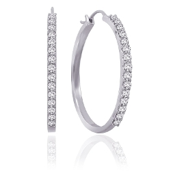 Diamond Hoop Earrings by Katarina in Ted 2