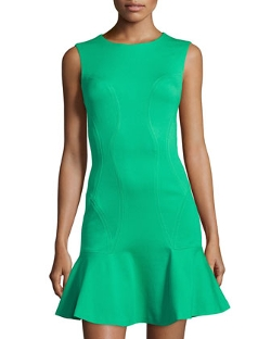 Knit Ruffle-Hem Sleeveless Dress by Diane Von Furstenberg in The Best of Me