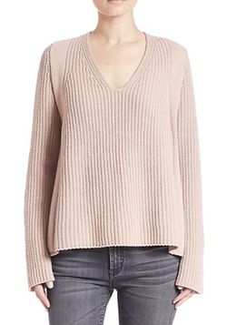 V-Neck Wool Sweater by Helmut Lang in Animal Kingdom
