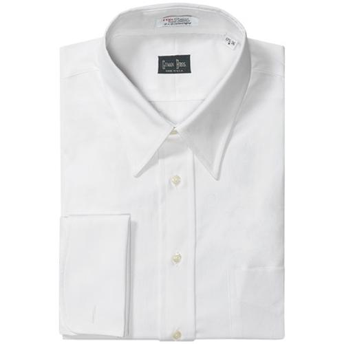 Pinpoint Cotton Dress Shirt by Gitman Brothers in The Hundred-Foot Journey