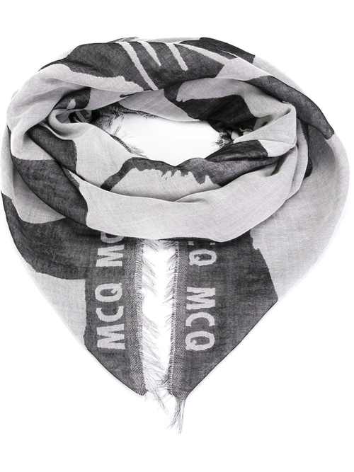 Printed Scarf by MCQ Alexander McQueen in Scandal