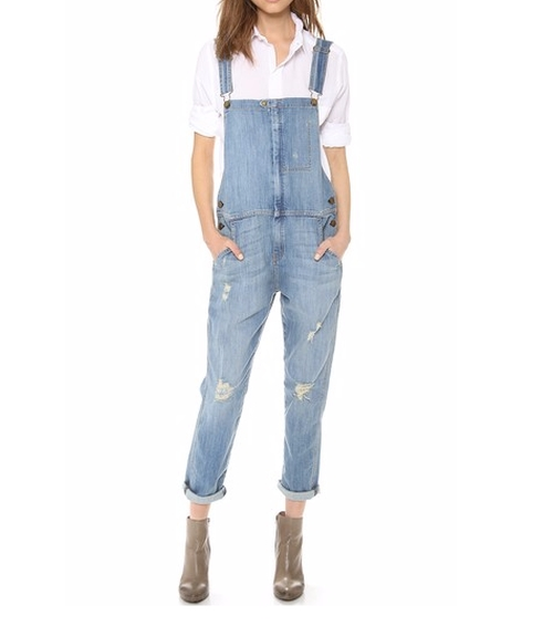 The Ranchhand Overalls by Current/Elliott in Grace and Frankie - Season 2 Episode 11