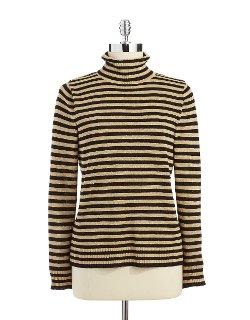 Striped Turtleneck Sweater by Joseph A in While We're Young