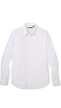 Slyvain Solid Dress Shirt by Theory in Horrible Bosses 2