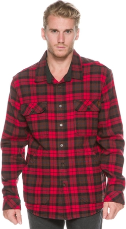 Lincoln Flannel Shirt by Billabong in Christmas Vacation