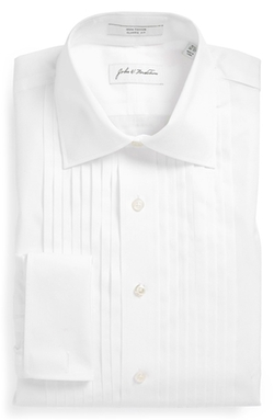 Classic Fit French Cuff Tuxedo Shirt by John W. Nordstrom in Scarface