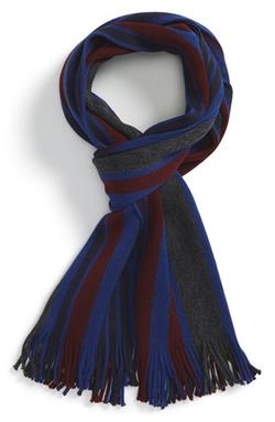 'Raschel' Stripe Wool Scarf by Ted Baker London in Modern Family