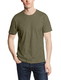 Men's Archer Crew-Neck T-Shirt by Jack Spade in Contraband