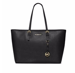 Jet Set Travel Medium Saffiano Tote Bag by Michael Michael Kors in Mr. Robot