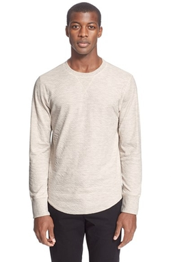 Double Knit Long Sleeve Sweater by Todd Snyder in Empire