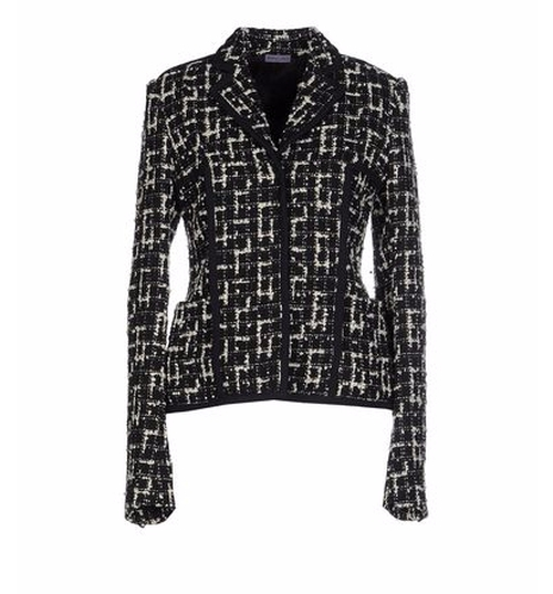Tweed Blazer by Emanuel Ungaro in Keeping Up With The Kardashians - Season 12 Episode 4