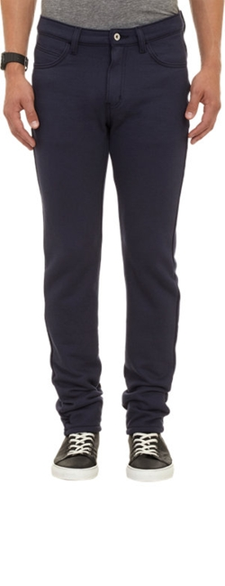 Fleece Sweatpant-Jeans by Naked & Famous Denim in Birdman
